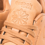 Мужские кроссовки Reebok Classic Leather Lux Horween Natural/Moon White/Black фото- 8