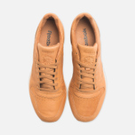 Мужские кроссовки Reebok Classic Leather Lux Horween Natural/Moon White/Black фото- 4