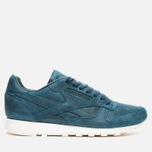 Мужские кроссовки Reebok Classic Leather Lux Navy/Olympic Creme фото- 0