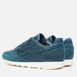 Мужские кроссовки Reebok Classic Leather Lux Navy/Olympic Creme фото- 2