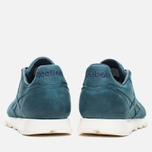 Мужские кроссовки Reebok Classic Leather Lux Navy/Olympic Creme фото- 3