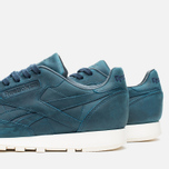 Мужские кроссовки Reebok Classic Leather Lux Navy/Olympic Creme фото- 5