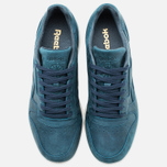 Мужские кроссовки Reebok Classic Leather Lux Navy/Olympic Creme фото- 4
