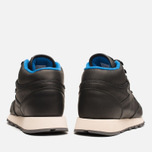 Мужские кроссовки Reebok Classic Leather Mid Gore-Tex Black/Pebble/Blue фото- 3