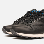 Мужские кроссовки Reebok Classic Leather Mid Gore-Tex Black/Pebble/Blue фото- 5