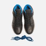 Мужские кроссовки Reebok Classic Leather Mid Gore-Tex Black/Pebble/Blue фото- 4