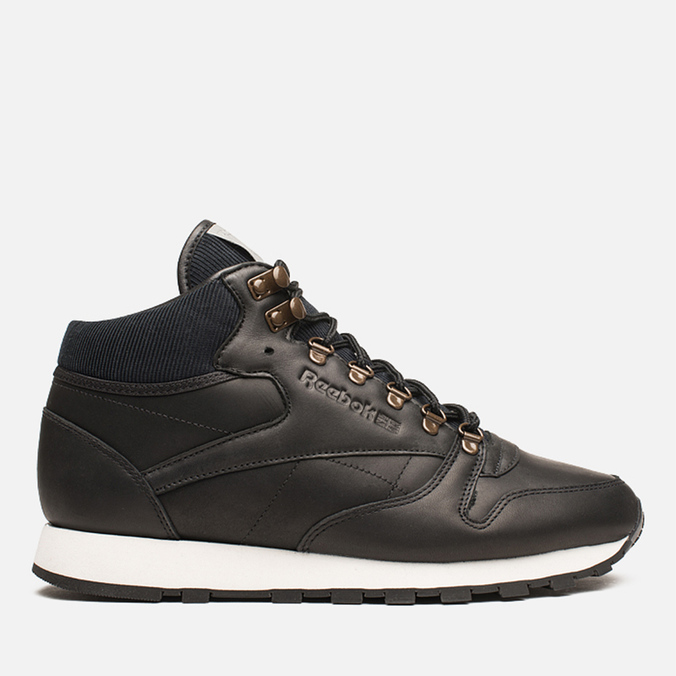 Мужские кроссовки Reebok Classic Leather Mid R12 Black/Chalk/Copper