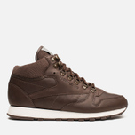 Мужские кроссовки Reebok Classic Leather Mid R12 Earth/Chalk/Copper фото- 0