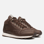 Мужские кроссовки Reebok Classic Leather Mid R12 Earth/Chalk/Copper фото- 1
