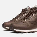 Мужские кроссовки Reebok Classic Leather Mid R12 Earth/Chalk/Copper фото- 5