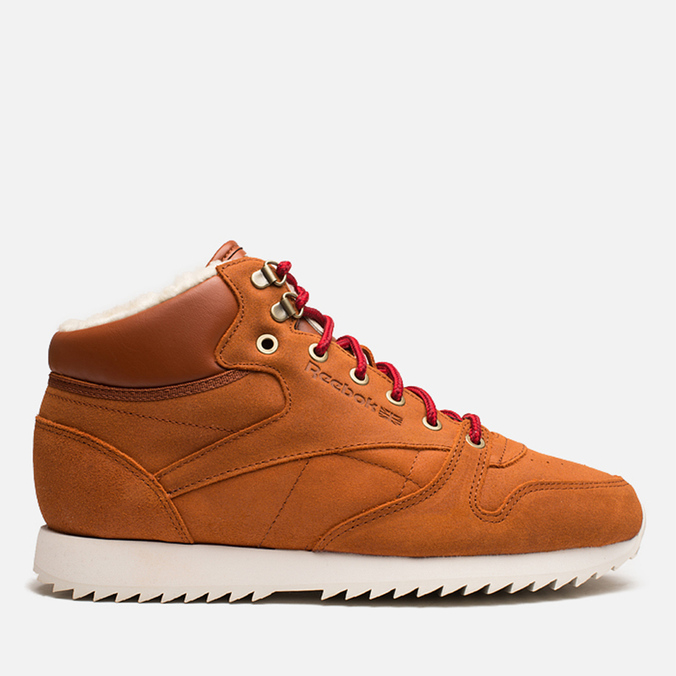 Reebok Classic Leather Mid Ripple WW Sneakers Ginger/White