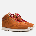 Reebok Classic Leather Mid Ripple WW Sneakers Ginger/White photo- 1
