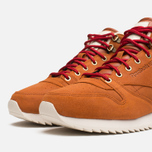 Reebok Classic Leather Mid Ripple WW Sneakers Ginger/White photo- 5