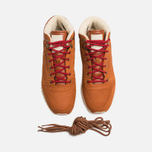 Reebok Classic Leather Mid Ripple WW Sneakers Ginger/White photo- 4