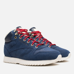 Мужские кроссовки Reebok Classic Leather Mid Ripple WW Navy/White фото- 1