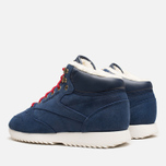 Мужские кроссовки Reebok Classic Leather Mid Ripple WW Navy/White фото- 2
