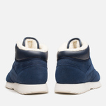 Мужские кроссовки Reebok Classic Leather Mid Ripple WW Navy/White фото- 3
