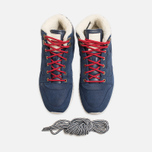 Мужские кроссовки Reebok Classic Leather Mid Ripple WW Navy/White фото- 4