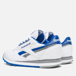 Мужские кроссовки Reebok Classic Leather RE Heritage White/Royal/Grey фото- 2