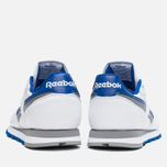 Мужские кроссовки Reebok Classic Leather RE Heritage White/Royal/Grey фото- 3
