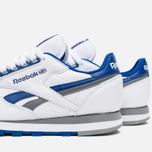 Мужские кроссовки Reebok Classic Leather RE Heritage White/Royal/Grey фото- 7