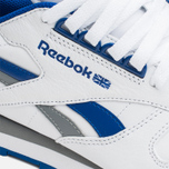Мужские кроссовки Reebok Classic Leather RE Heritage White/Royal/Grey фото- 5