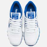 Мужские кроссовки Reebok Classic Leather RE Heritage White/Royal/Grey фото- 4