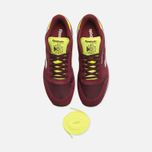 Мужские кроссовки Reebok Classic Leather Sport Burgundy/Dark Red/Yellow фото- 4