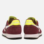 Мужские кроссовки Reebok Classic Leather Sport Burgundy/Dark Red/Yellow фото- 3