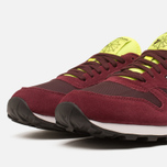 Мужские кроссовки Reebok Classic Leather Sport Burgundy/Dark Red/Yellow фото- 5
