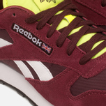 Мужские кроссовки Reebok Classic Leather Sport Burgundy/Dark Red/Yellow фото- 7