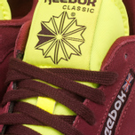 Мужские кроссовки Reebok Classic Leather Sport Burgundy/Dark Red/Yellow фото- 8