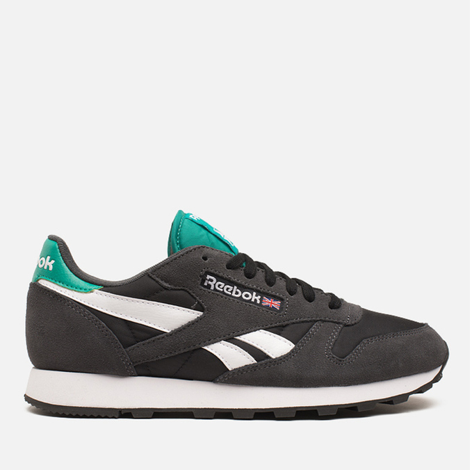 Мужские кроссовки Reebok Classic Leather Sport Gravel/Black