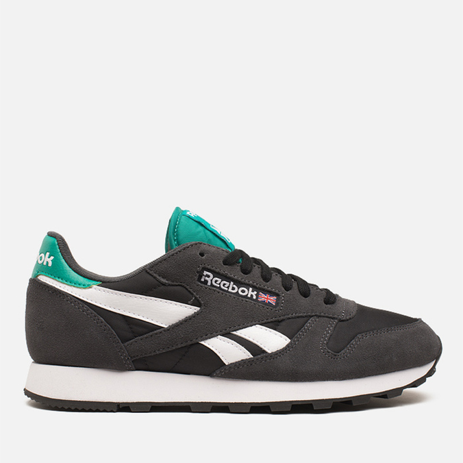 Reebok Classic Leather Sport Men's Sneakers Gravel/Black