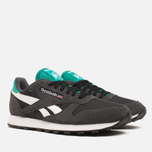 Reebok Classic Leather Sport Men's Sneakers Gravel/Black photo- 1