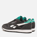Reebok Classic Leather Sport Men's Sneakers Gravel/Black photo- 2