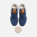 Мужские кроссовки Reebok Classic Leather Suede Club Blue/Paper White фото- 4