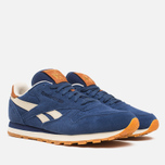 Мужские кроссовки Reebok Classic Leather Suede Club Blue/Paper White фото- 1
