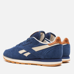 Мужские кроссовки Reebok Classic Leather Suede Club Blue/Paper White фото- 2