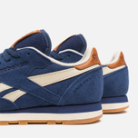 Мужские кроссовки Reebok Classic Leather Suede Club Blue/Paper White фото- 6