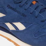 Мужские кроссовки Reebok Classic Leather Suede Club Blue/Paper White фото- 7