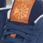Мужские кроссовки Reebok Classic Leather Suede Club Blue/Paper White фото- 8