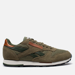 Мужские кроссовки Reebok Classic Leather Utility Cargo/Green фото- 0