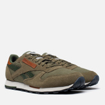 Мужские кроссовки Reebok Classic Leather Utility Cargo/Green фото- 1