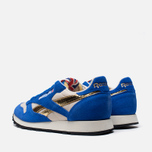 Мужские кроссовки Reebok Classic Leather Vintage Inspired Blue/Steel/Brass фото- 2