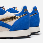 Мужские кроссовки Reebok Classic Leather Vintage Inspired Blue/Steel/Brass фото- 5