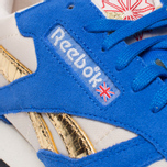 Мужские кроссовки Reebok Classic Leather Vintage Inspired Blue/Steel/Brass фото- 6