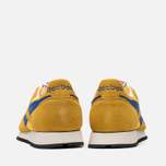 Мужские кроссовки Reebok Classic Leather Vintage Inspired Khaki/Lemon/Blue фото- 3