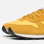 Мужские кроссовки Reebok Classic Leather Vintage Inspired Khaki/Lemon/Blue фото- 5