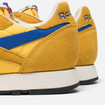 Мужские кроссовки Reebok Classic Leather Vintage Inspired Khaki/Lemon/Blue фото- 6
